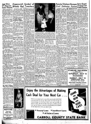 Carrol Daily Times Herald from Carroll, Iowa on July 13, 1957 · Page 8