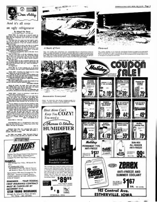 Estherville Daily News from Estherville, Iowa on December 28, 1972 · Page 3