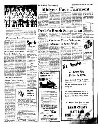 Estherville Daily News from Estherville, Iowa on December 28, 1972 · Page 6