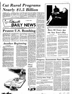 Estherville Daily News from Estherville, Iowa on December 29, 1972 · Page 1