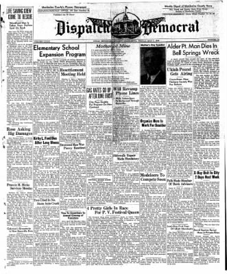 Ukiah Dispatch Democrat from Ukiah, California on May 7, 1948 · Page 1