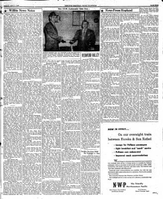 Ukiah Dispatch Democrat from Ukiah, California on May 7, 1948 · Page 5