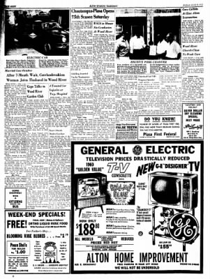 Alton Evening Telegraph from Alton, Illinois on June 17, 1960 · Page 8