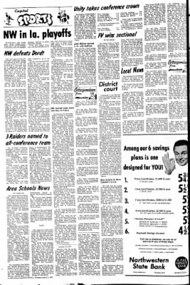 The Sioux County Capital from Orange City, Iowa on March 2, 1972 · Page 6