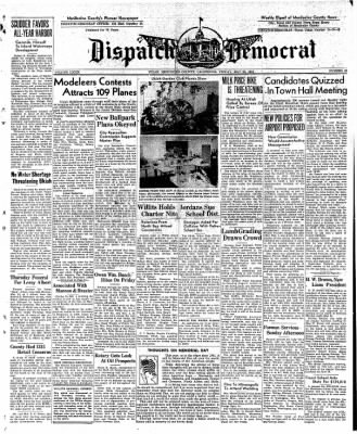 Ukiah Dispatch Democrat from Ukiah, California on May 28, 1948 · Page 1