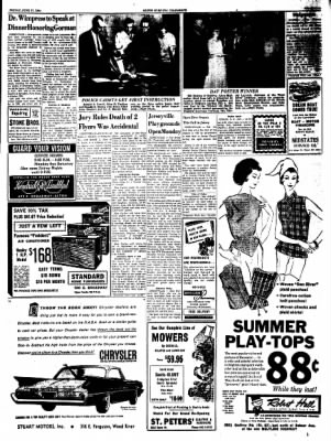 Alton Evening Telegraph from Alton, Illinois on June 17, 1960 · Page 9