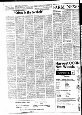 The Sioux County Capital from Orange City, Iowa on March 16, 1972 · Page 2