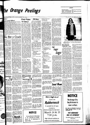 The Sioux County Capital from Orange City, Iowa on March 23, 1972 · Page 3