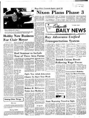 Estherville Daily News from Estherville, Iowa on January 10, 1973 · Page 1
