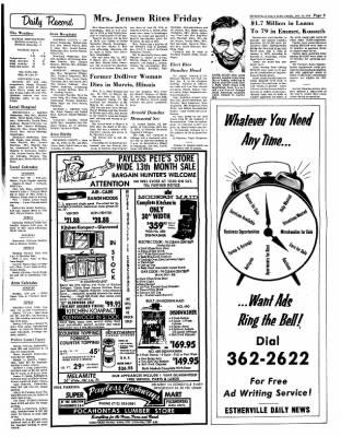 Estherville Daily News from Estherville, Iowa on January 11, 1973 · Page 9