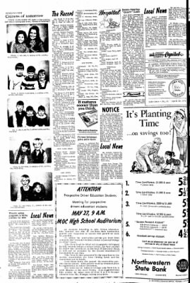 The Sioux County Capital from Orange City, Iowa on April 20, 1972 · Page 2