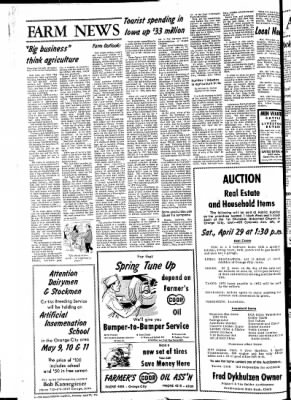 The Sioux County Capital from Orange City, Iowa on April 27, 1972 · Page 6