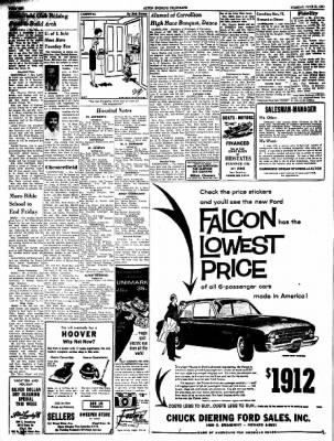 Alton Evening Telegraph from Alton, Illinois on June 21, 1960 · Page 10
