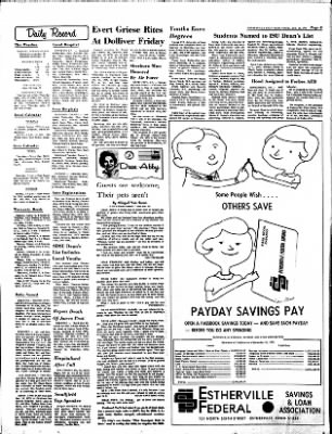 Estherville Daily News from Estherville, Iowa on January 18, 1973 · Page 8