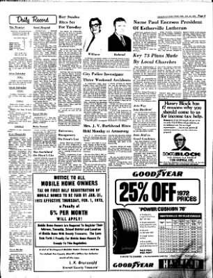 Estherville Daily News from Estherville, Iowa on January 22, 1973 · Page 8