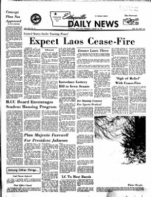 Estherville Daily News from Estherville, Iowa on January 24, 1973 · Page 1