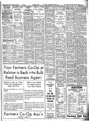 Carrol Daily Times Herald from Carroll, Iowa on August 1, 1957 · Page 11