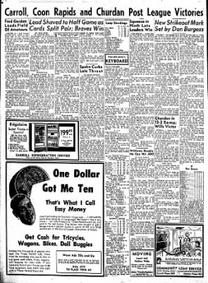 Carrol Daily Times Herald from Carroll, Iowa on August 5, 1957 · Page 2