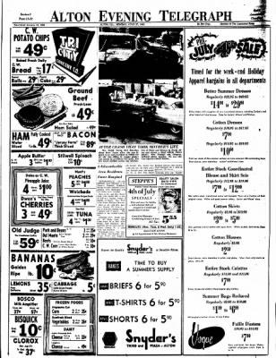 Alton Evening Telegraph from Alton, Illinois on June 27, 1960 · Page 13