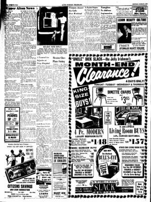 Alton Evening Telegraph from Alton, Illinois on June 27, 1960 · Page 22
