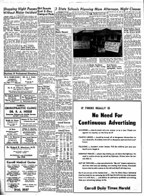 Carrol Daily Times Herald from Carroll, Iowa on August 8, 1957 · Page 12
