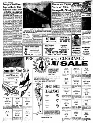 Alton Evening Telegraph from Alton, Illinois on June 30, 1960 · Page 3