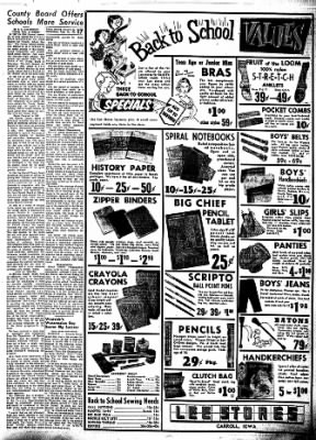 Carrol Daily Times Herald from Carroll, Iowa on August 14, 1957 · Page 16