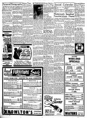 Carrol Daily Times Herald from Carroll, Iowa on August 15, 1957 · Page 4