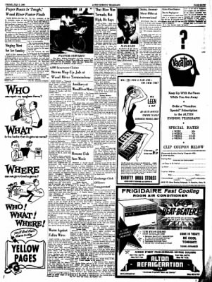Alton Evening Telegraph from Alton, Illinois on July 1, 1960 · Page 7