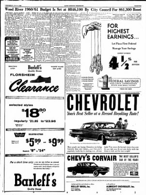 Alton Evening Telegraph from Alton, Illinois on July 6, 1960 · Page 5