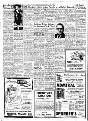 Carrol Daily Times Herald from Carroll, Iowa on August 23, 1957 · Page 10