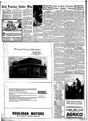 Carrol Daily Times Herald from Carroll, Iowa on August 26, 1957 · Page 2