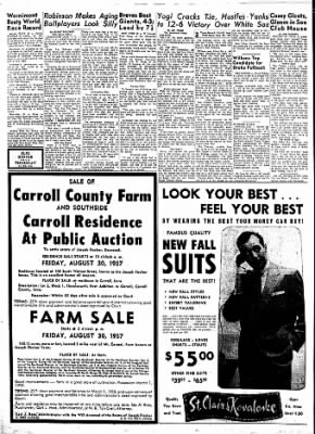 Carrol Daily Times Herald from Carroll, Iowa on August 28, 1957 · Page 2