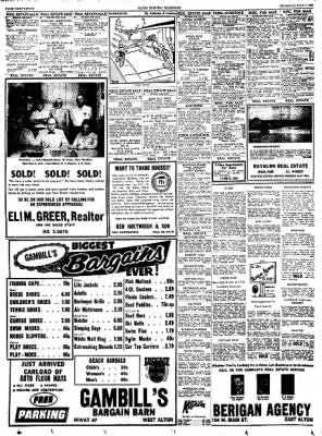 Alton Evening Telegraph from Alton, Illinois on July 7, 1960 · Page 34