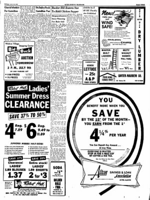 Alton Evening Telegraph from Alton, Illinois on July 8, 1960 · Page 3