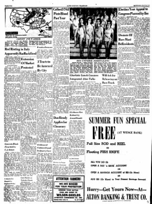 Alton Evening Telegraph from Alton, Illinois on July 9, 1960 · Page 2