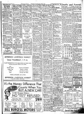 Carrol Daily Times Herald from Carroll, Iowa on September 3, 1957 · Page 9