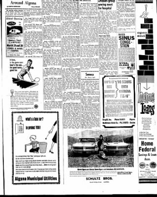 Kossuth County Advance from Algona, Iowa on March 18, 1965 · Page 19