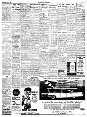 Alton Evening Telegraph from Alton, Illinois on July 12, 1960 · Page 5