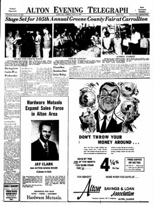 Alton Evening Telegraph from Alton, Illinois on July 12, 1960 · Page 11