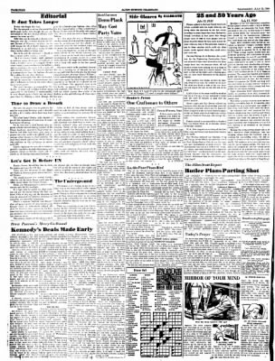 Alton Evening Telegraph from Alton, Illinois on July 13, 1960 · Page 4
