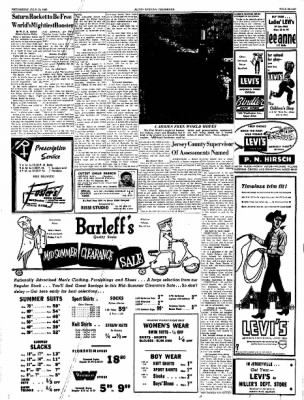 Alton Evening Telegraph from Alton, Illinois on July 13, 1960 · Page 7