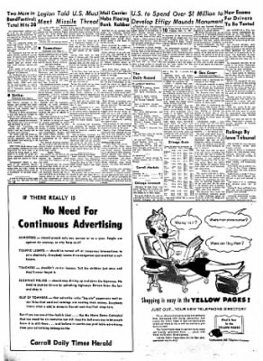 Carrol Daily Times Herald from Carroll, Iowa on September 17, 1957 · Page 10