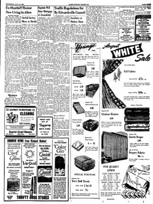 Alton Evening Telegraph from Alton, Illinois on July 20, 1960 · Page 3
