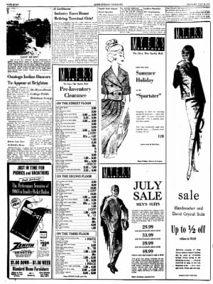 Alton Evening Telegraph from Alton, Illinois on July 21, 1960 · Page 8