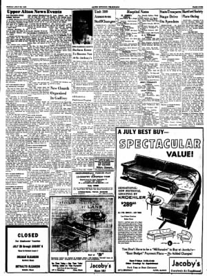 Alton Evening Telegraph from Alton, Illinois on July 22, 1960 · Page 9
