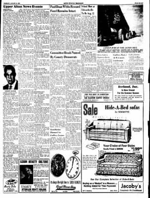 Alton Evening Telegraph from Alton, Illinois on August 2, 1960 · Page 7