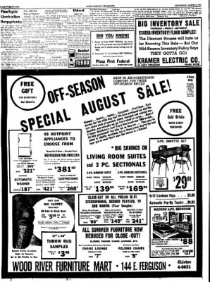 Alton Evening Telegraph from Alton, Illinois on August 3, 1960 · Page 22