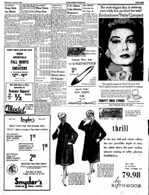 Alton Evening Telegraph from Alton, Illinois on August 4, 1960 · Page 3