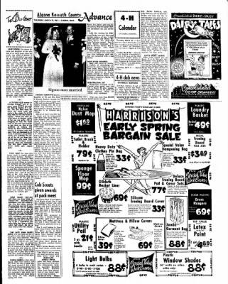 Kossuth County Advance from Algona, Iowa on March 25, 1965 · Page 13